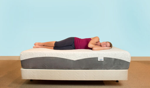 Rest Refreshed Memory Foam Mattress Side Sleeper